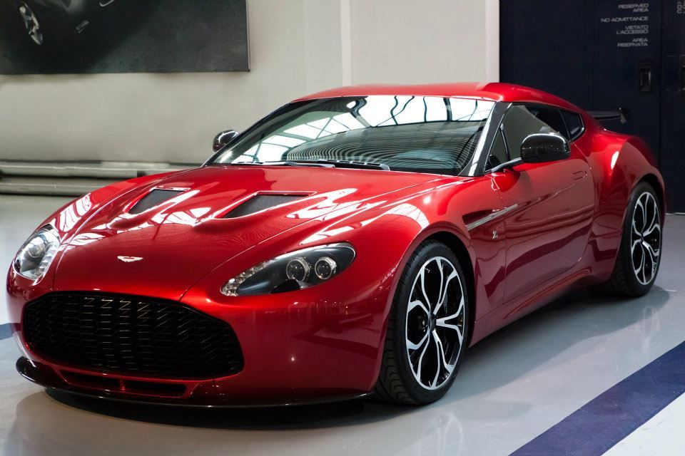 2012 Aston Martin V12 Zagato  -  or one of these