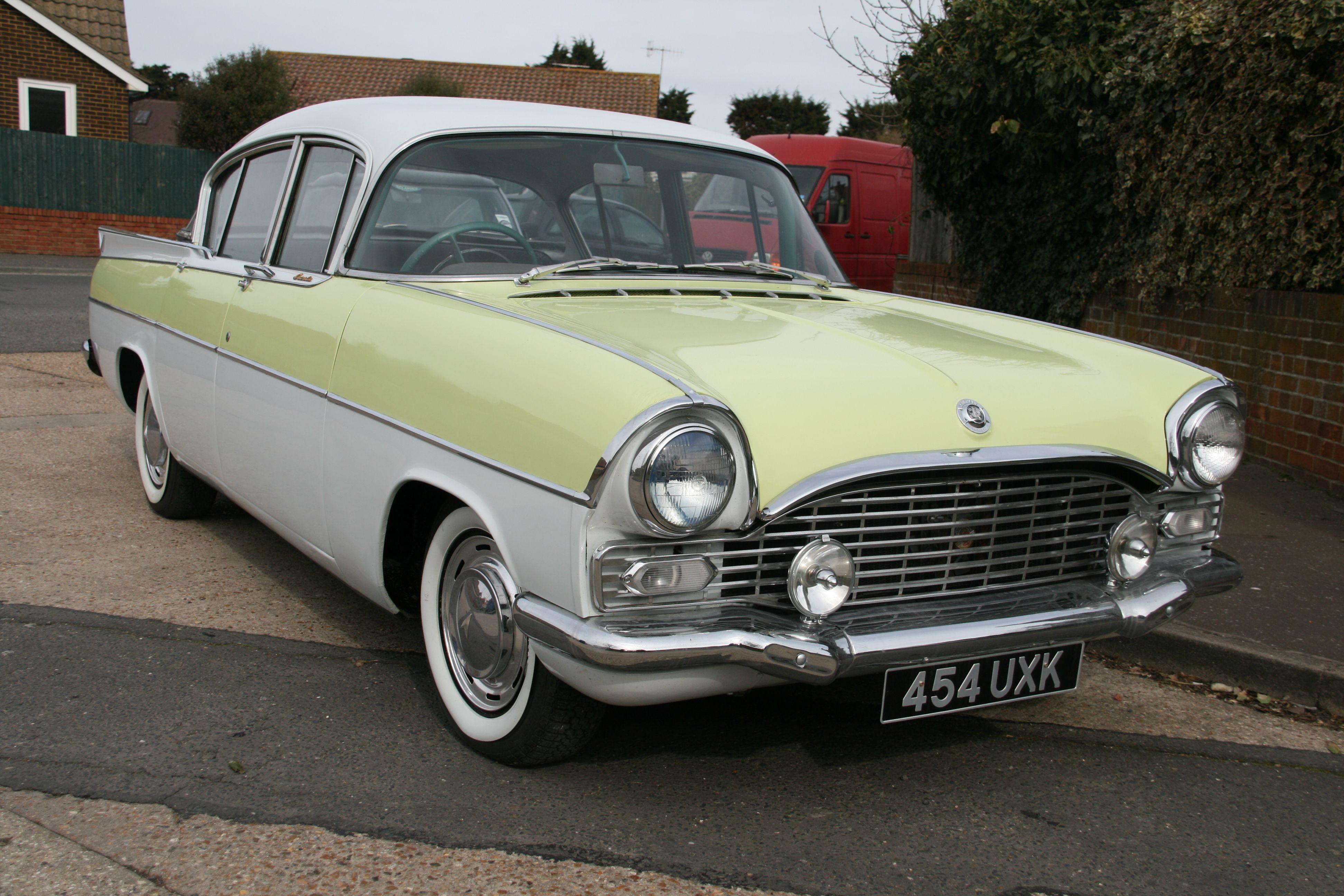 VAUXHALL PA CRESTA 1957-1962. | British Ford GM Vauxhall & Random ...