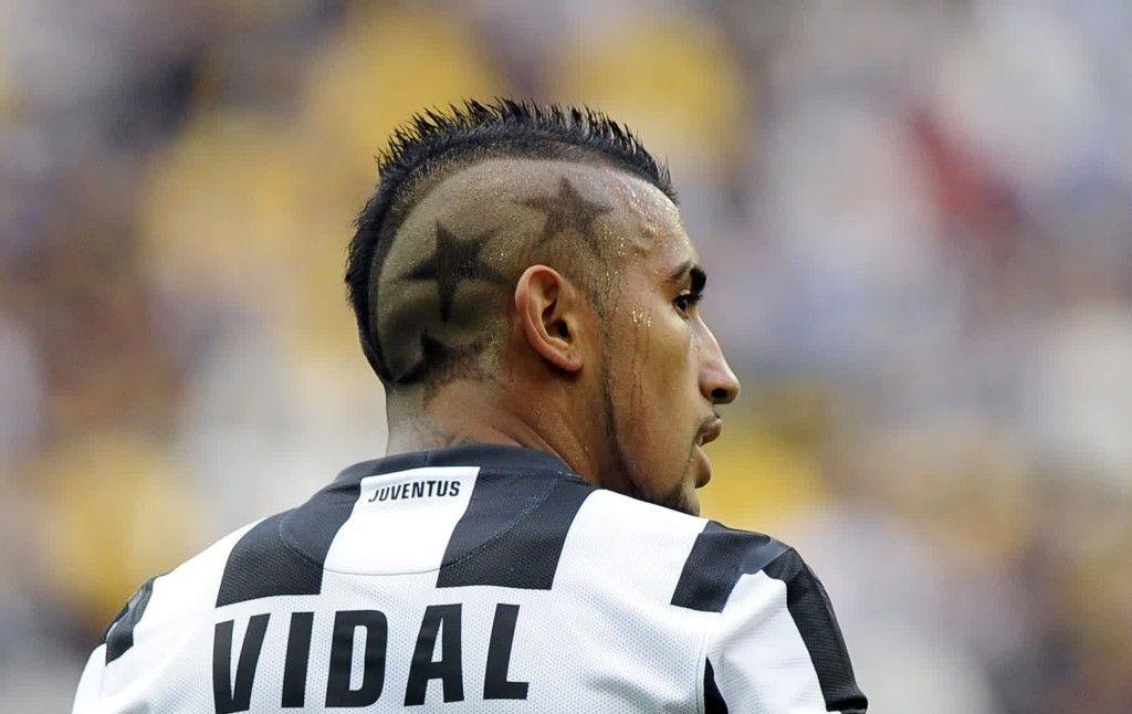 arturo vidal mohawk haircut hairstyle