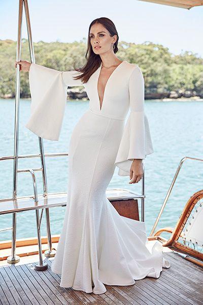 Modern wedding gown inspiration on @bridetobemag. Images by Trevor ...