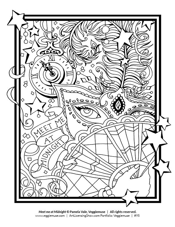Free 92 Page Holiday Coloring Book Artlicensingshow Com Your 24 7 Virtual Art Licensing Show Holiday Coloring Book Coloring Books Blank Coloring Pages