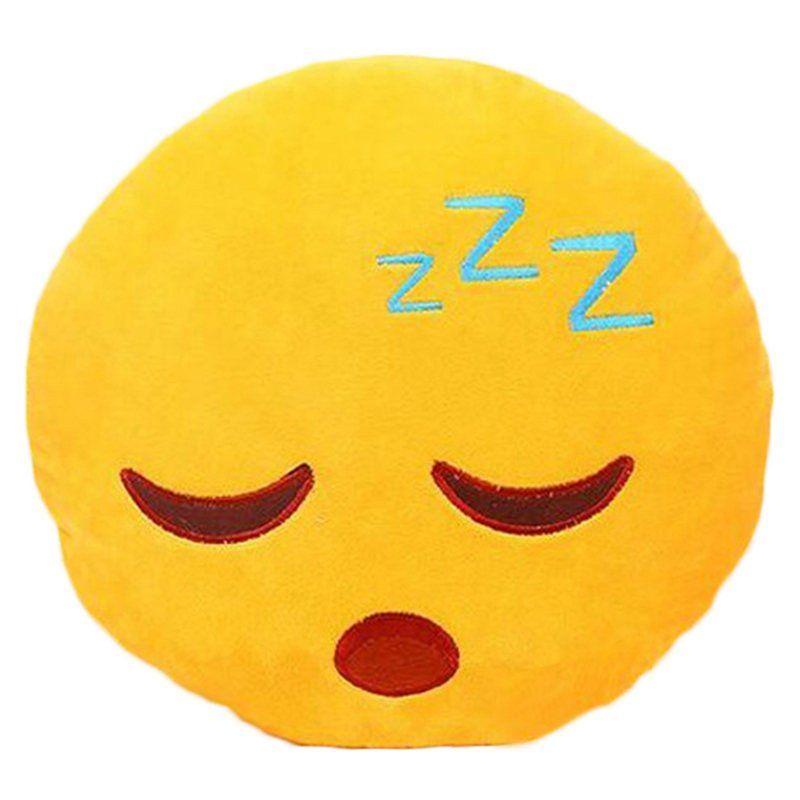 Sleeping Emoji Large Pillow Emoji Cushions Smiley Face Pillows Plush Emoji