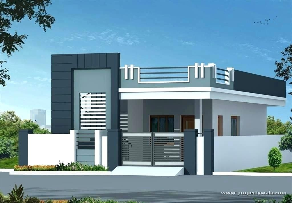 Latest Indian Single Storey House Elevation Designs Large Size Of Turn On Design Ideas Small House Elevation Design Small House Elevation Village House Design