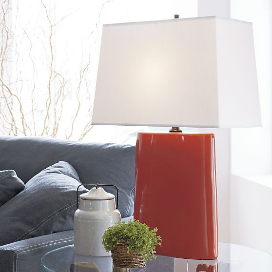 Boka Persimmon Table Lamp In Table Desk Lamps Crate And