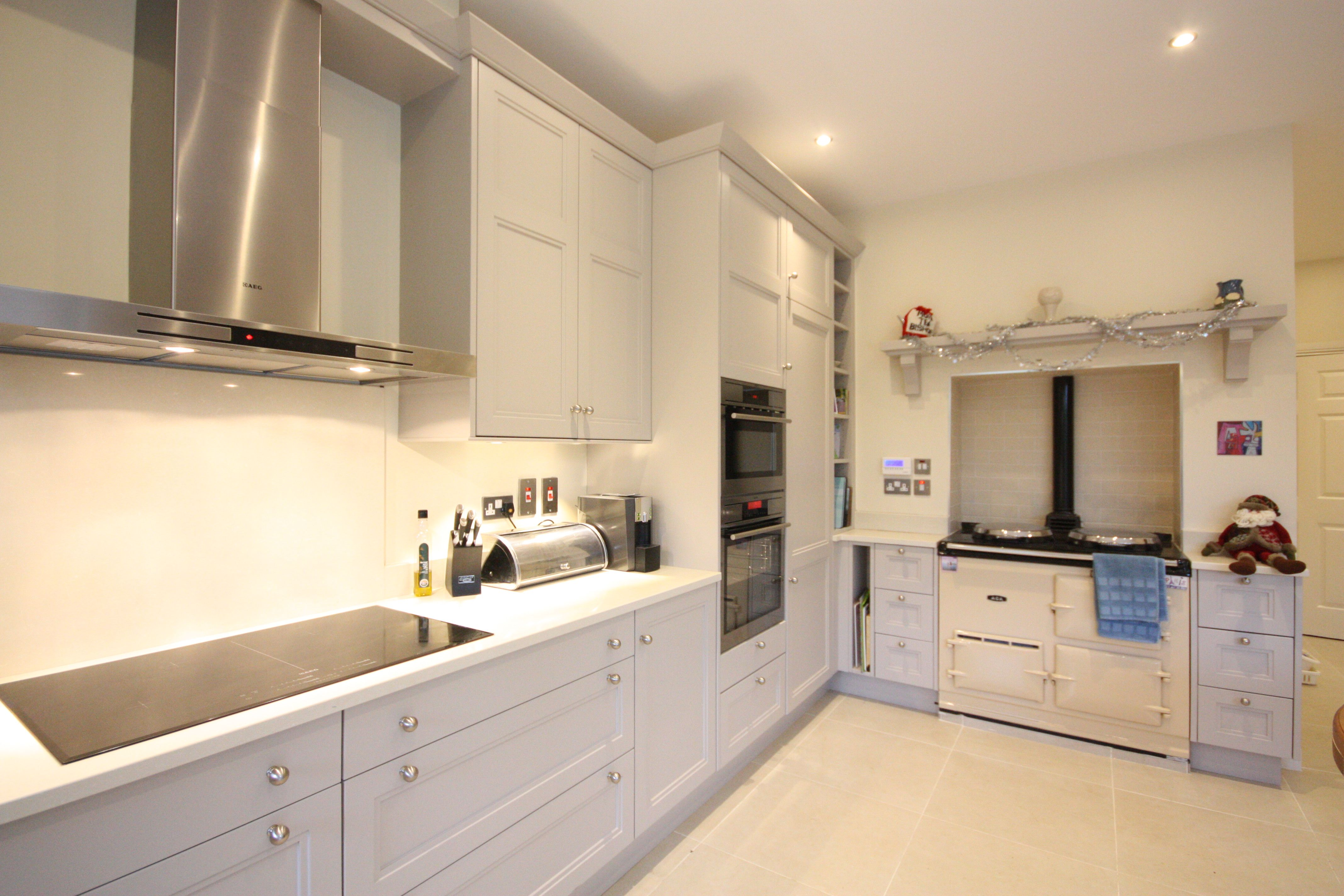 """Stepped Shaker"""" Kitchen Design by EnigmaDesign in Co Kildare"""