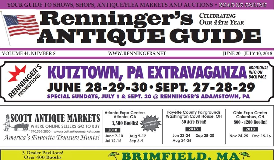 IRead the June 20th Issue of Renninger's Guide July 10