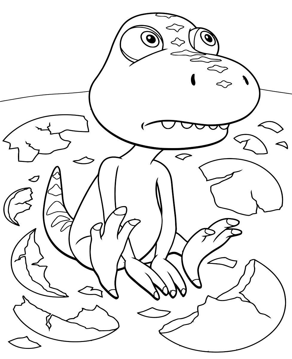 45++ Dinosaur train colouring pages information