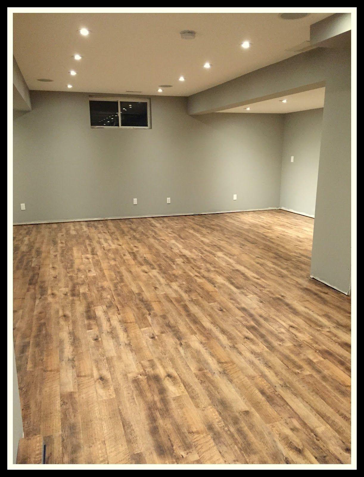 Our Basement Renovation Part Four Flooring Vinyl