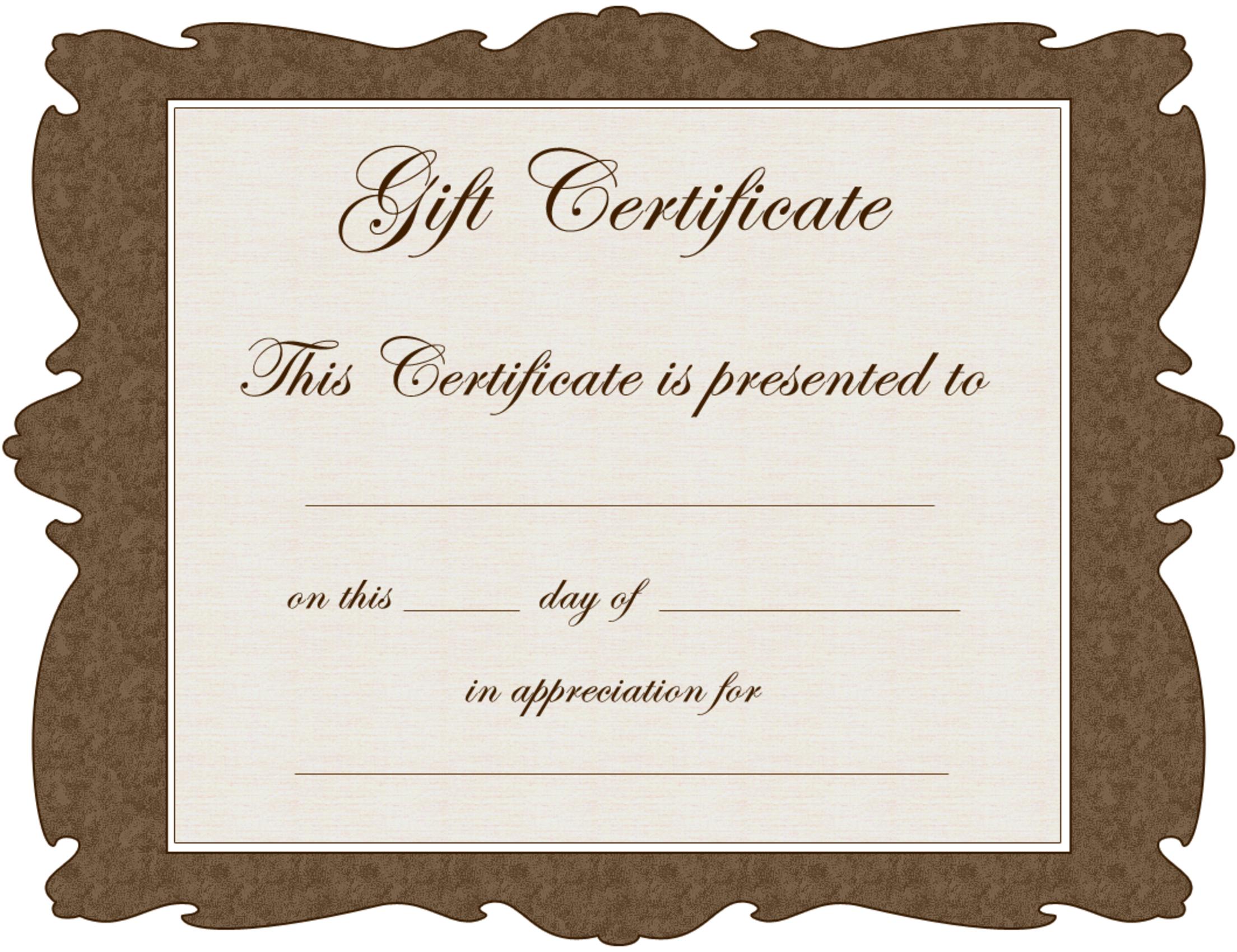 we appreciate you | Yolie\' | Pinterest | Free gift certificate template