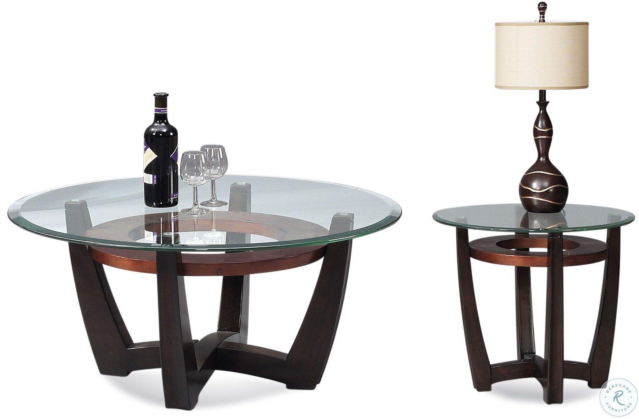 Metro Copper And Espresso Round Occasional Table Set Occasional Table Table Settings Table [ 1441 x 2200 Pixel ]
