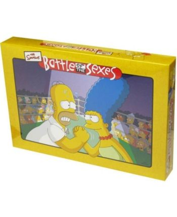 Battle Of The Sexes The Simpsons Edition Board Game In 2019