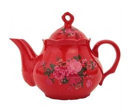Teapot Fluorine Red Tea Pots Tea Pot Set Tea
