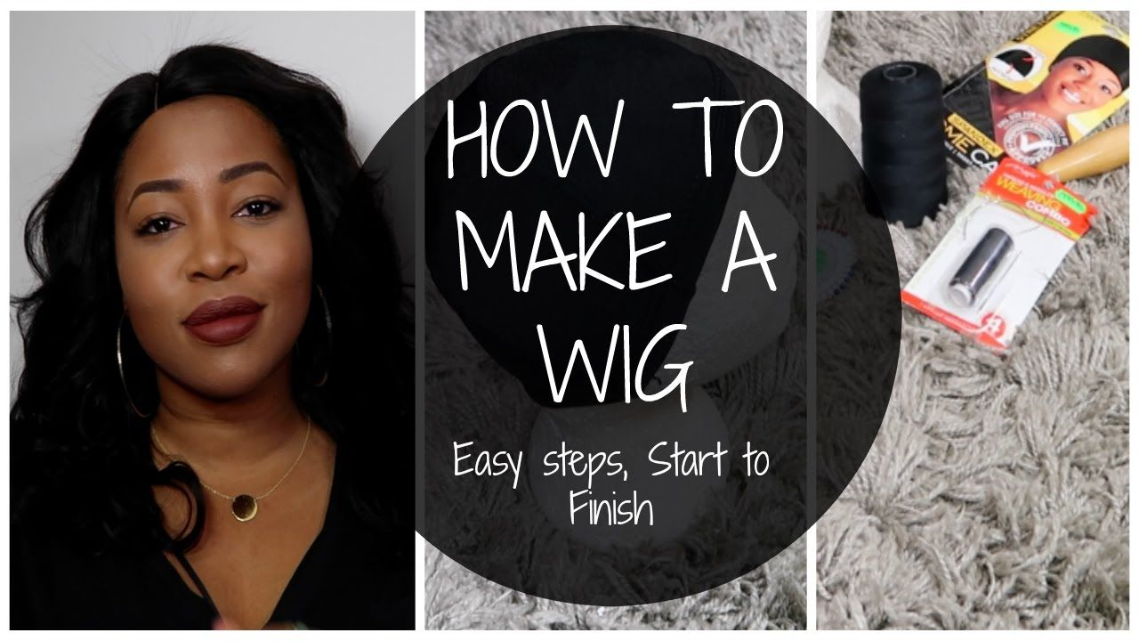 How to make a wig step by step tutorial on sewing a lace