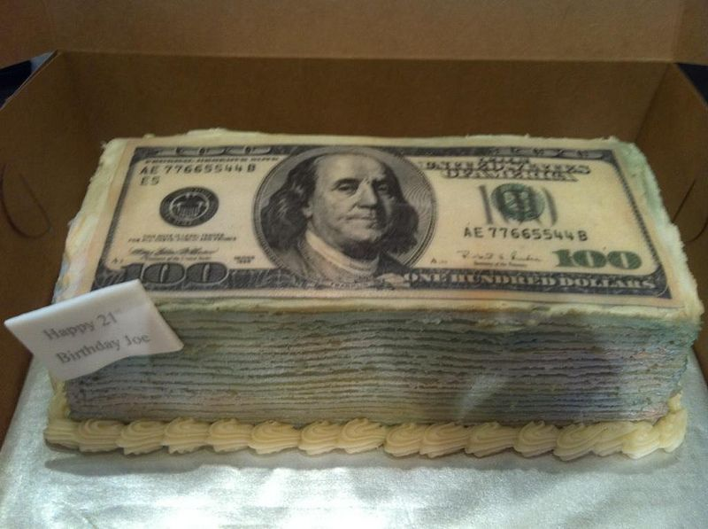 Money Cake Money cake Cake and Birthdays