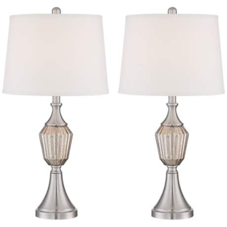 Herminie Stacked Ball Acrylic Table Lamp Set Of 2 Table Lamp Sets