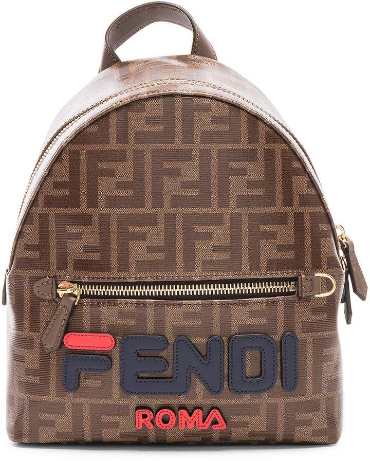 13ae4426f40f Fendi x FILA Small Logo Backpack