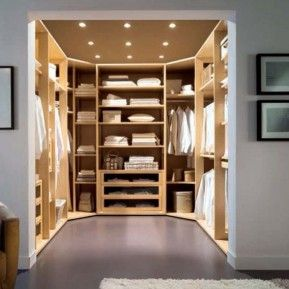 Bon U Shaped Walk In Robe Design   Google Search Walk In Closet Size, Master  Closet