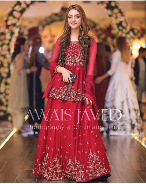 New Wedding Dress Design 2020 In Pakistan Addicfashion