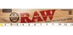 Raw Huge 12in Rolling Papers Rolling Paper Paper Rolled Paper