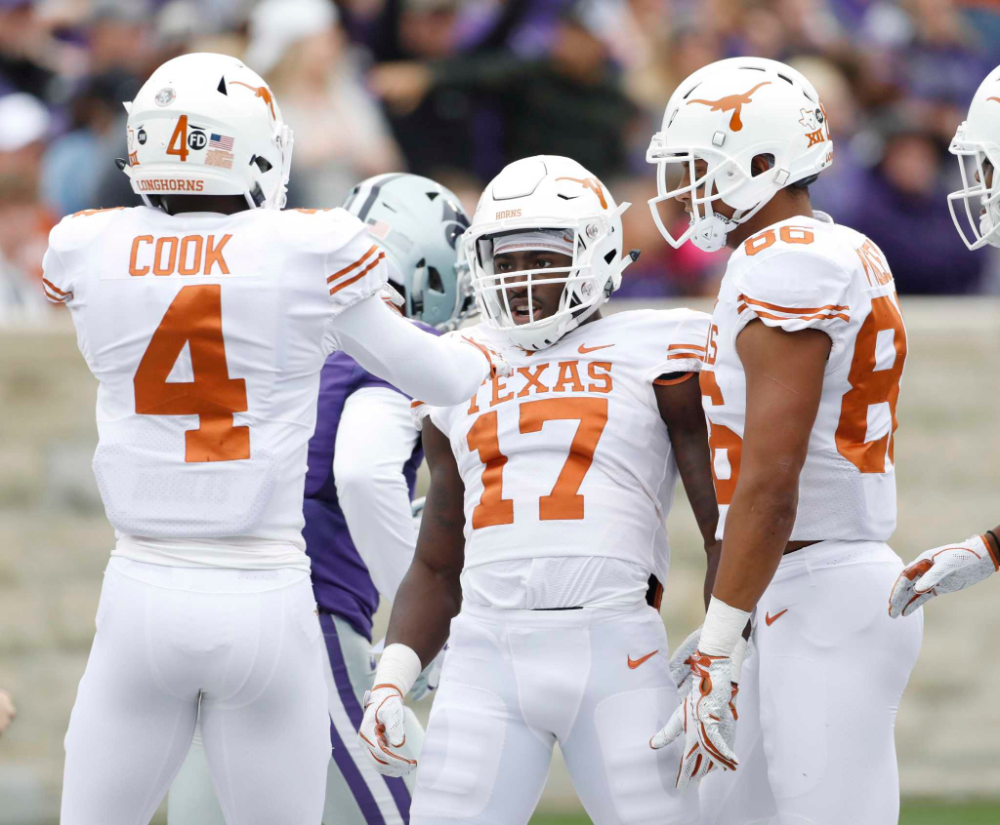 Excitement abounds for Texas as practice begins in 2020