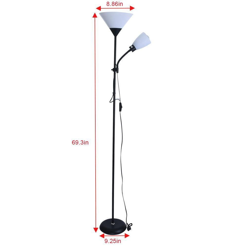 Floor Lamps European Style Modern Iron Acrylic Painted Adjustable Led Lights For Living Room Study Bedside Office 3 Floor Lamp Living Room Lighting Adjustable Floor Lamp