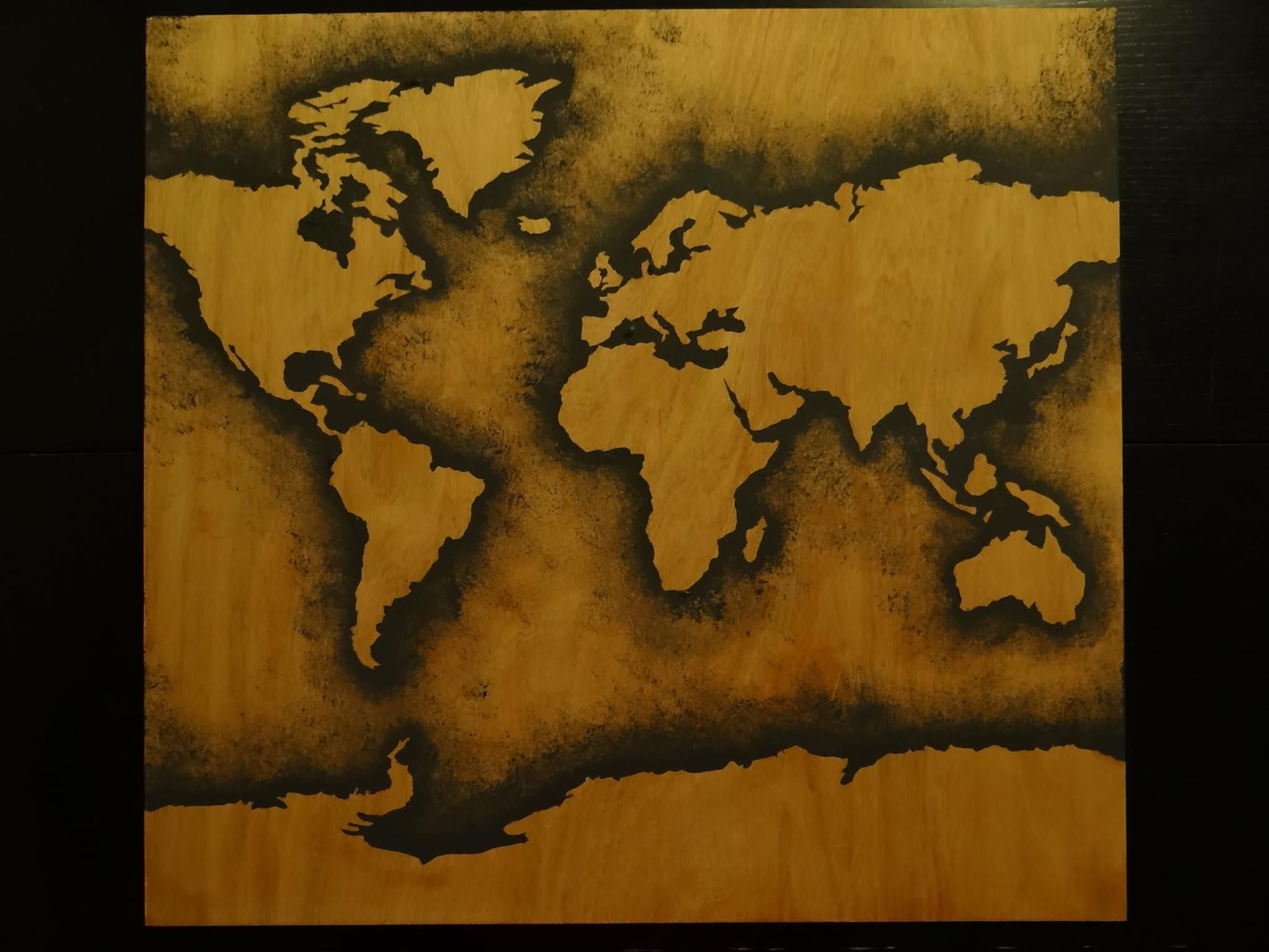 my flatmate art: World Map