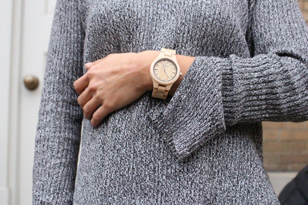 My Winter Wardrobe & My New Wood Watch! – Girl Meets Gym