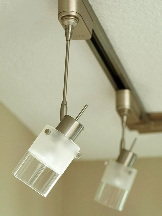 Small Kitchen Open Space Makeover Track Lighting Kitchen Track