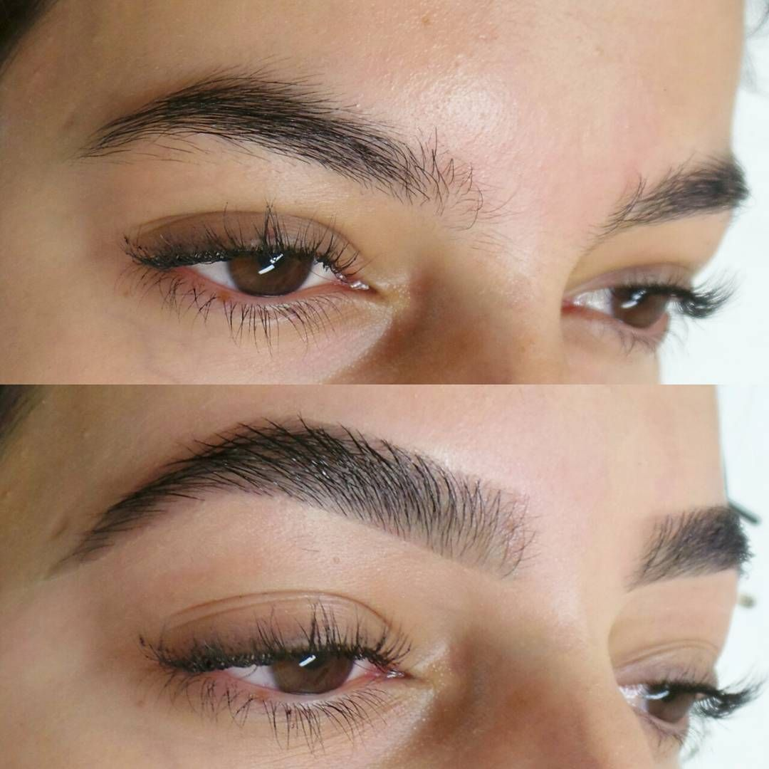 Full, thick eyebrows by WTM. Eyebrow styling # ...