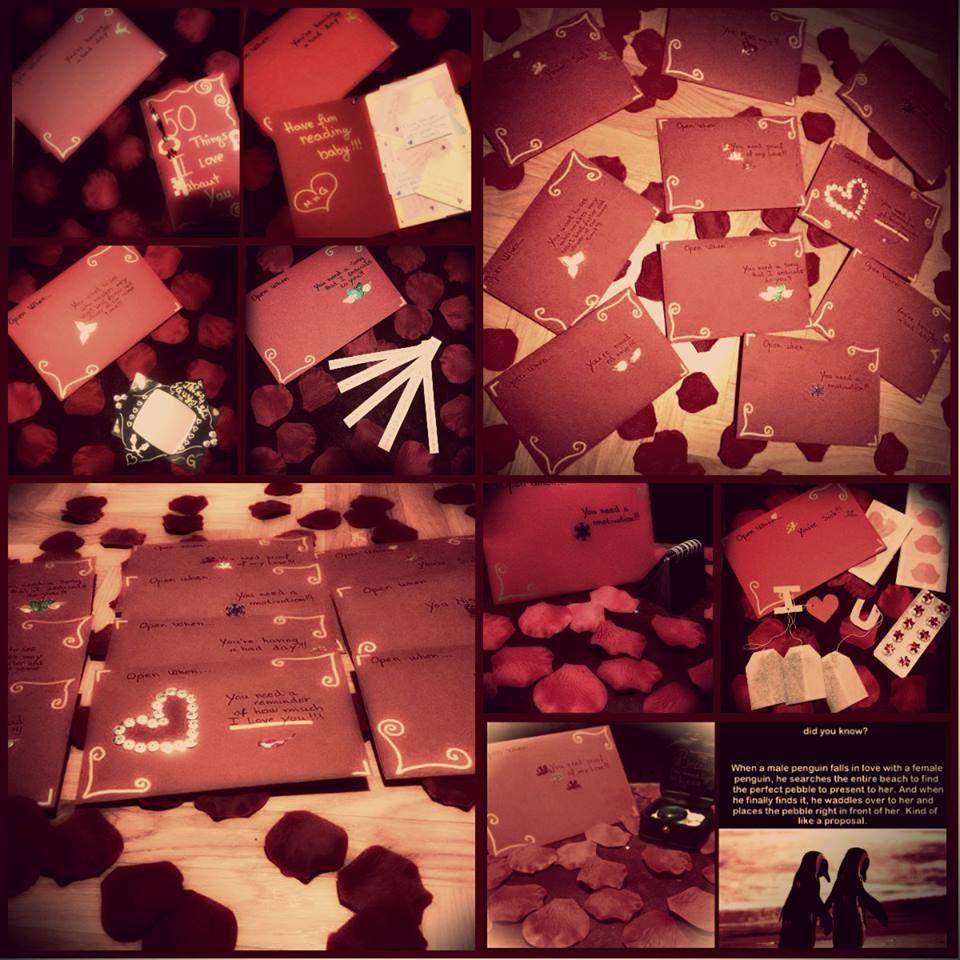 Open When Letters For Boyfriend !!!