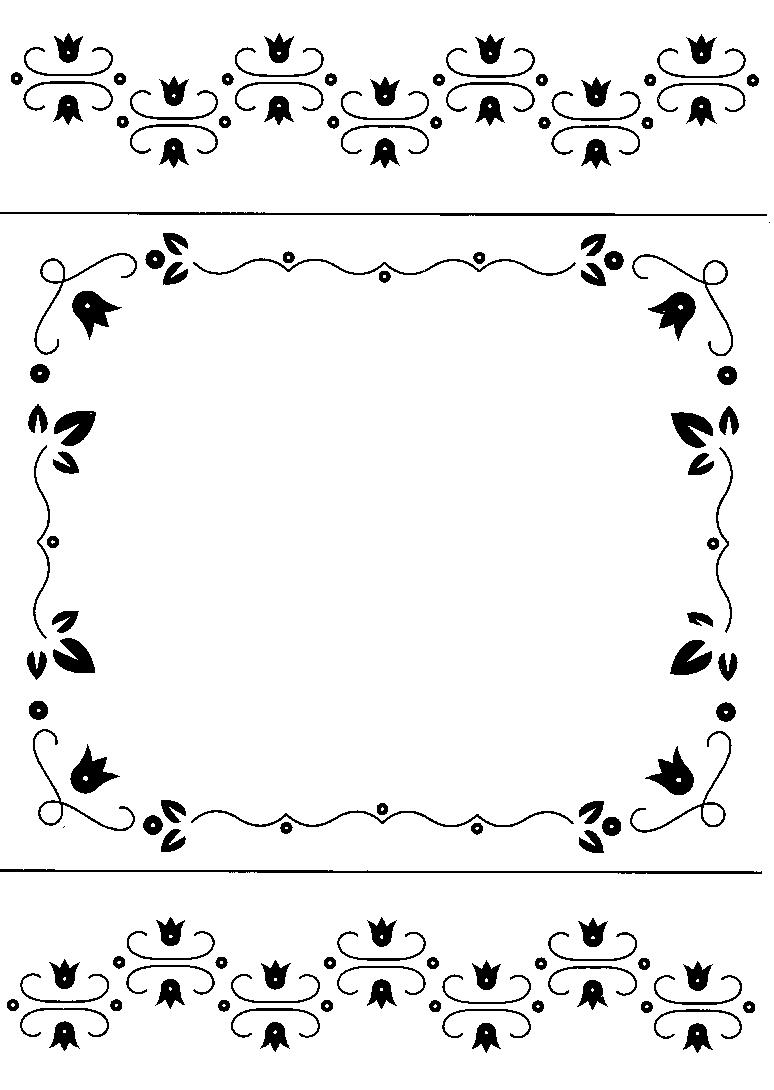 rechthoek en randjes patronen kaarten maken kaarten