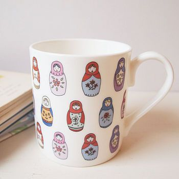 Babushka mug! Not on the High Street