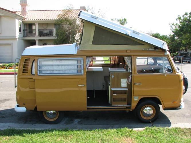 1972 Westfalia Vw Camper Van Vw Camper Vw Campervan Vw Van