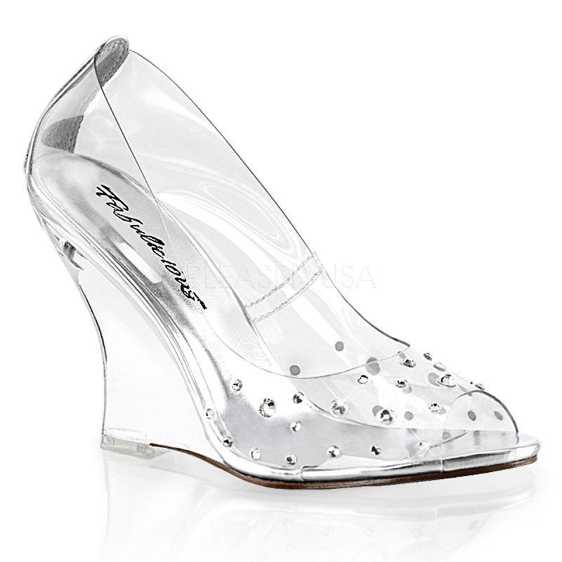 lenceriamericana calzado-sexy-de-plataforma zapatos-transparentes -efecto-cristal-tacon-en-cuna-pedreria. 63c31033fa4d