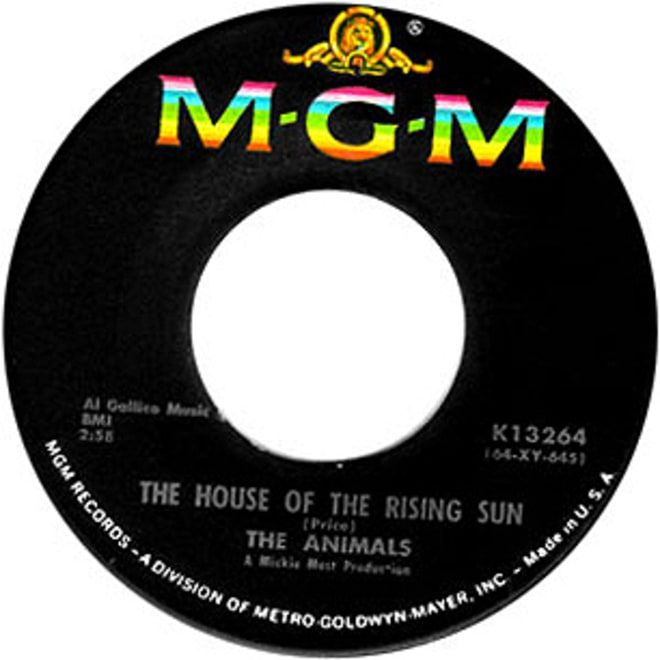 500 Greatest Songs Of All Time House Of The Rising Sun Songs