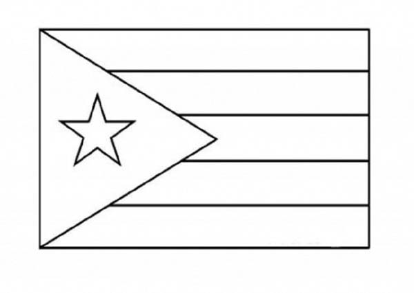 Puerto Rico Nation Flag Coloring Page Download Print Online Coloring Pages For Free Color Nimbus Puerto Rican Flag Flag Coloring Pages Puerto Rico Flag