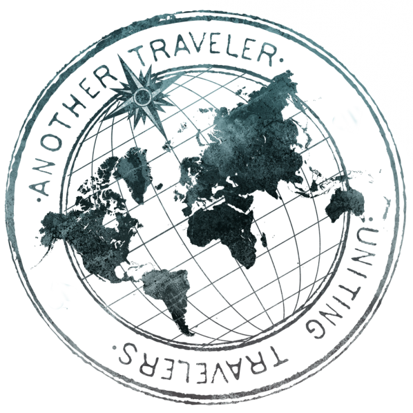 another traveler logo i like how the map is flat on top. Black Bedroom Furniture Sets. Home Design Ideas