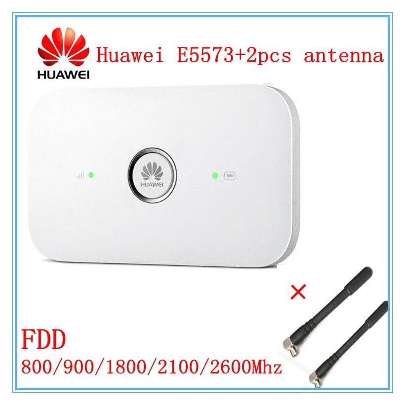 Unlocked Huawei E5573 E5573s-320 + 2pcs antenna Cat4 150mbps