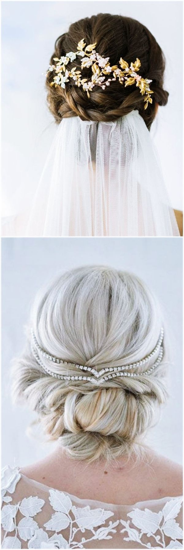 40 Gorgeous Wedding Hairstyles For Long Hair | Wedding, Weddings and ...