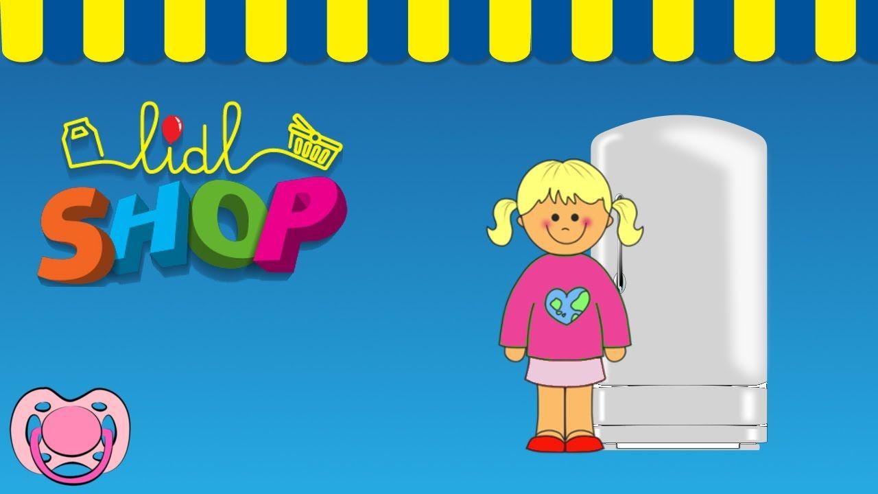 Lidl Shop - arrumar as compras do Lidl no frigorifico 🛒