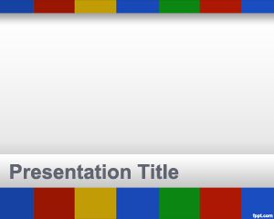Colors Of Google Powerpoint Template Is A Free Powerpoint Template