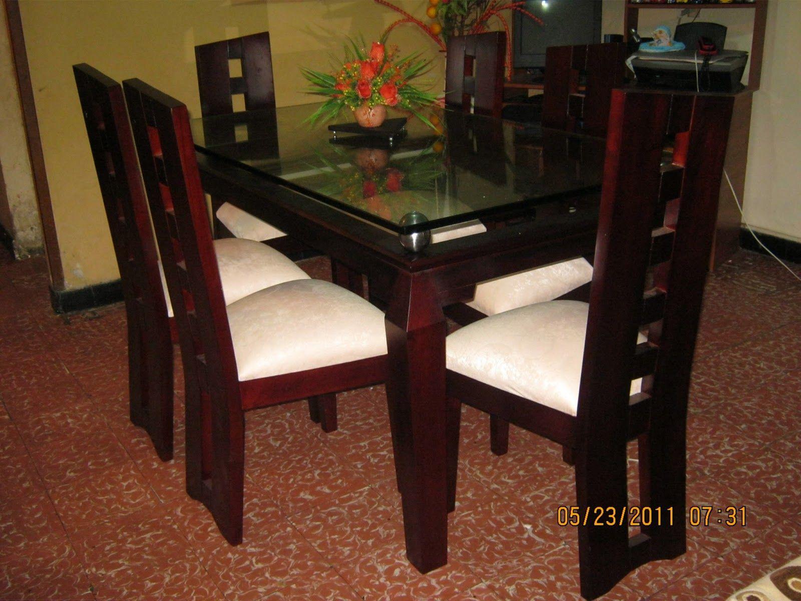 Comedor de cedro muebles pinterest sillas y b squeda for Comedor 6 sillas coppel