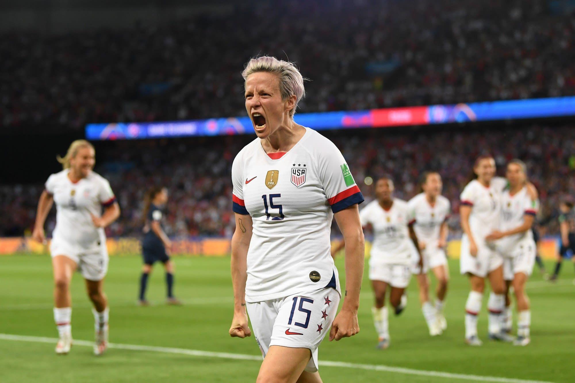 Nike Wins Big As The Us Women S Soccer Team Takes The World Cup Women S Soccer Team Womens Soccer Women S Soccer