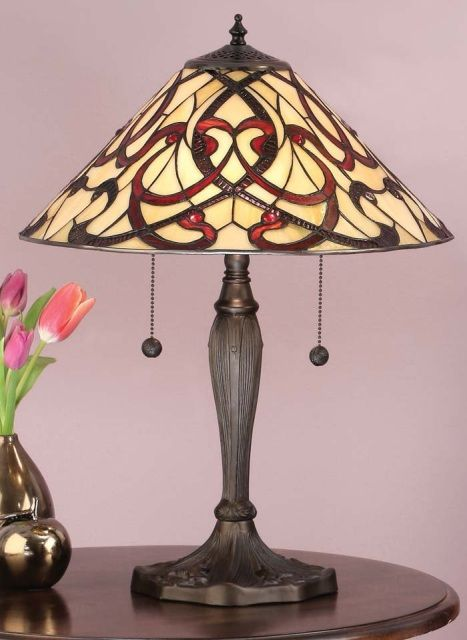 Theruban Art Nouveau Tiffany Range Of Lighting By Interiors 1900 Includes A