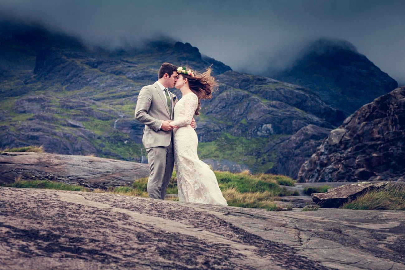 Isle Of Skye Wedding Elgol Humanist Scottish Highlands Photographers Scotland
