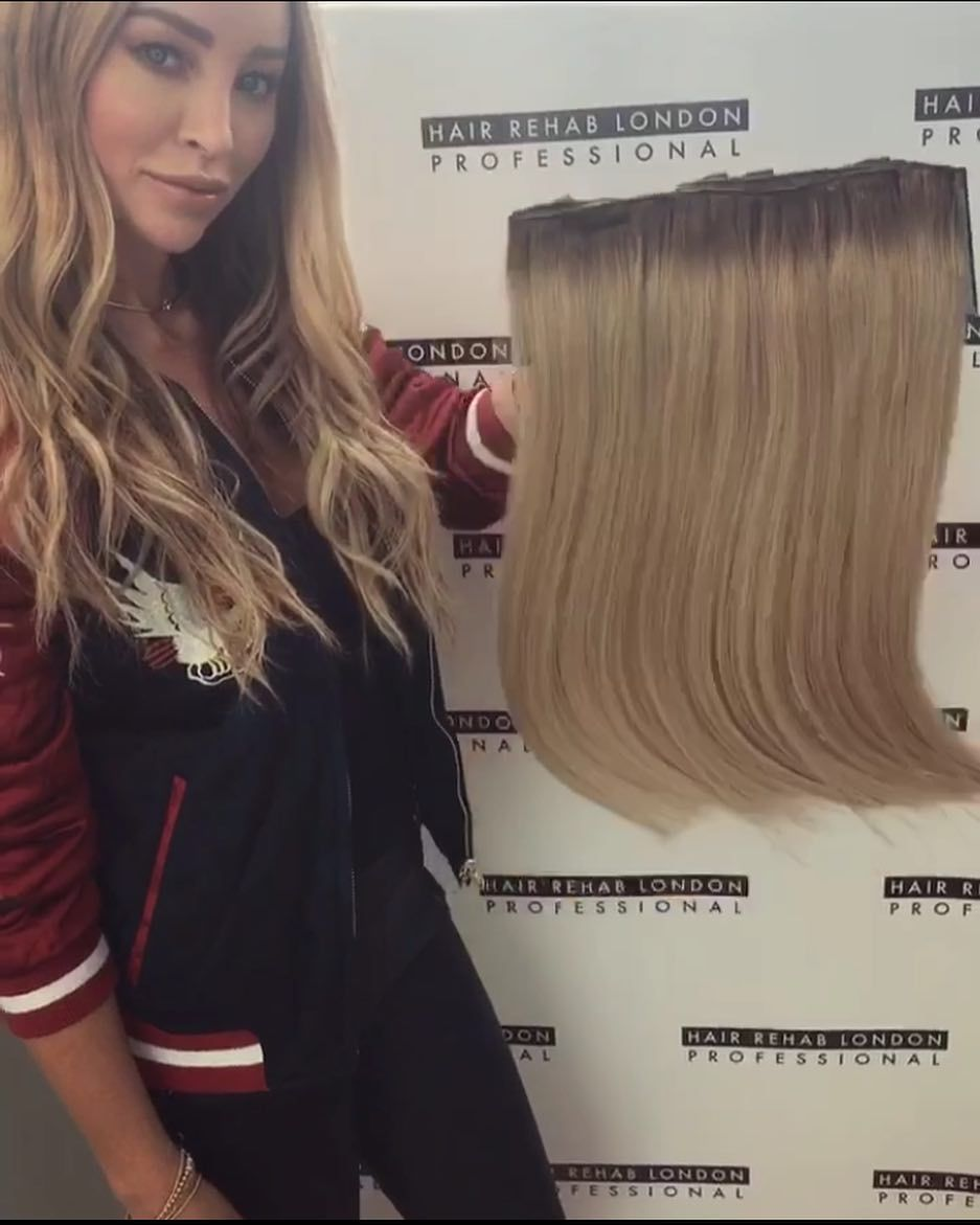 Dirty Rooted Blonde Luxe Volume Clip Ins As Worn By Laurenpopey