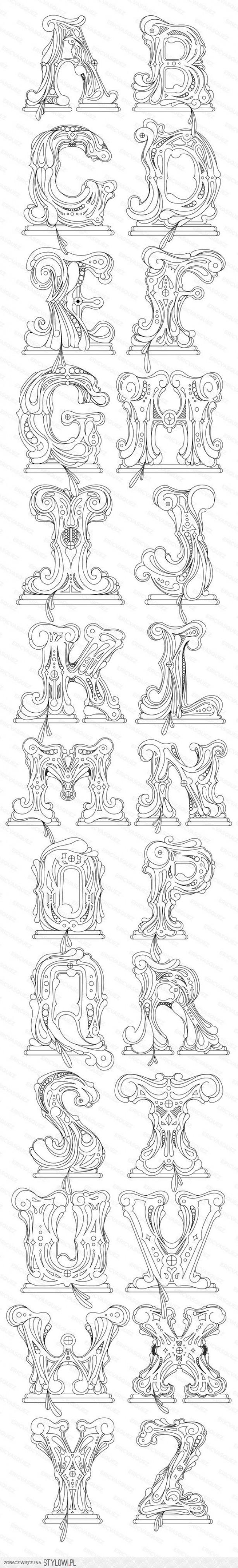 Heel Mooie Letters Door Jonneke61 Alfabet Alfabet Kleurplaten Alfabet Letters