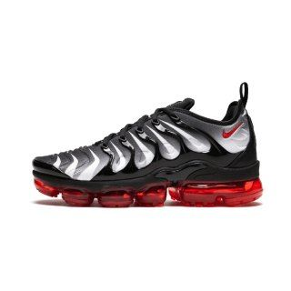 ca253cf3149 Mens Shoes Nike Air VaporMax Plus TN Black Speed Red White Shark AQ8632 001
