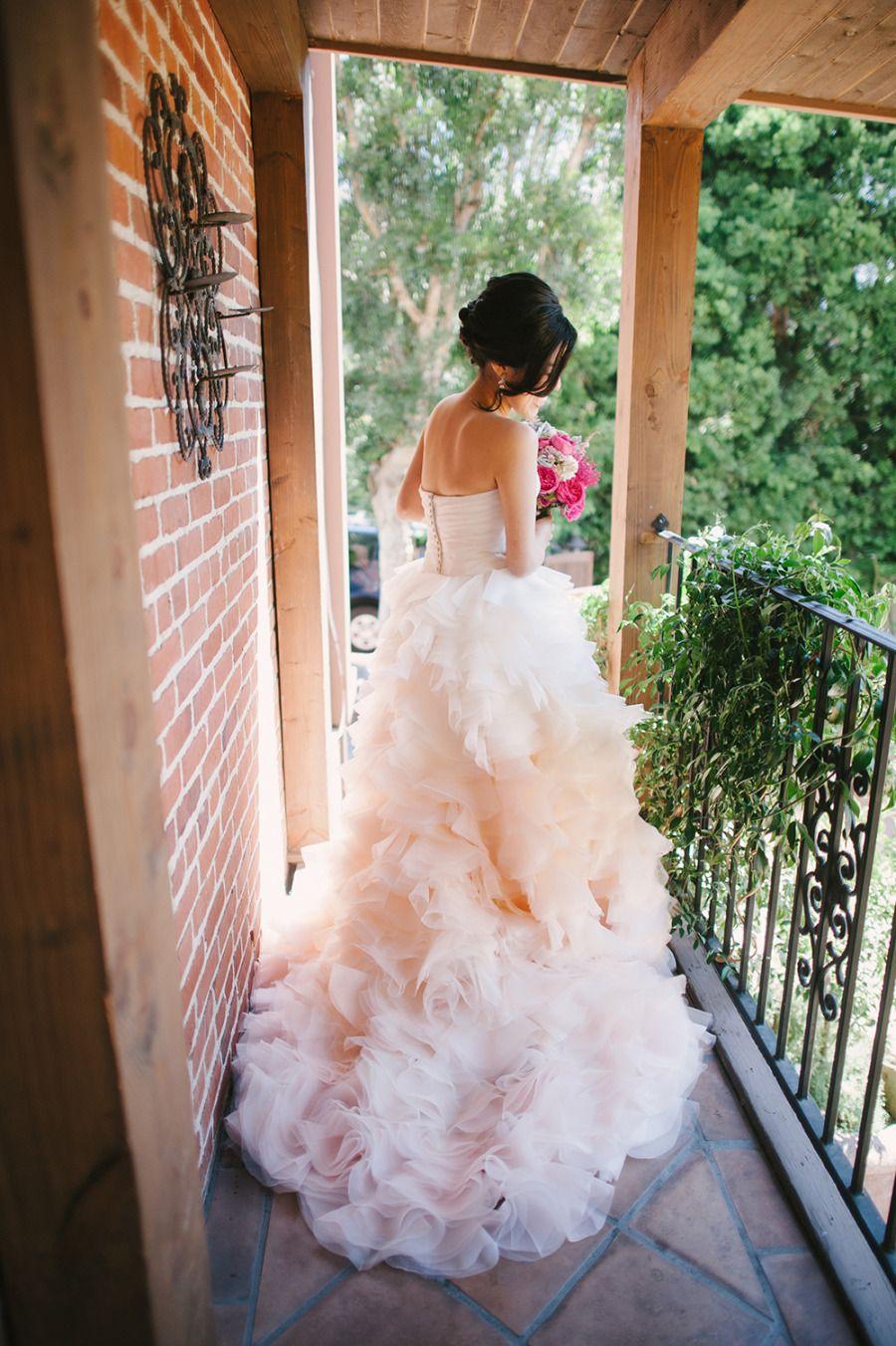Wedding dress runaway bride  Whimsical DIY Garden Wedding at Franciscan Gardens  Pretty face