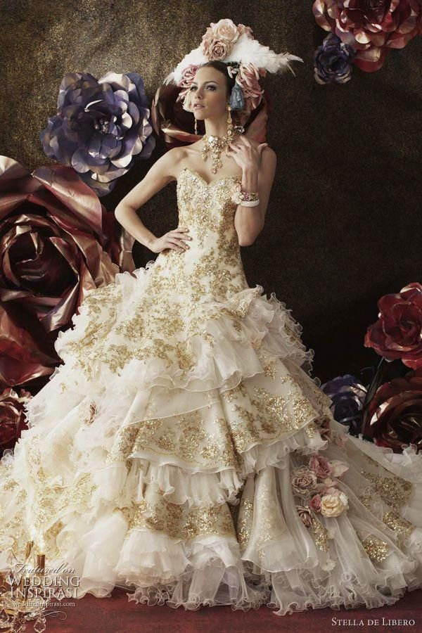 Marie antoinette wedding dress inspired